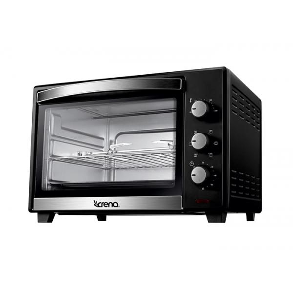 Horno de sobremesa crena 8753 hornos de sobremesa for Hornos piroliticos baratos