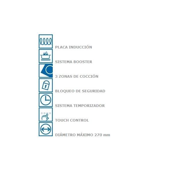 Placa de induccion cata ib 603 wh placa de induccion con - La mejor placa de induccion ...